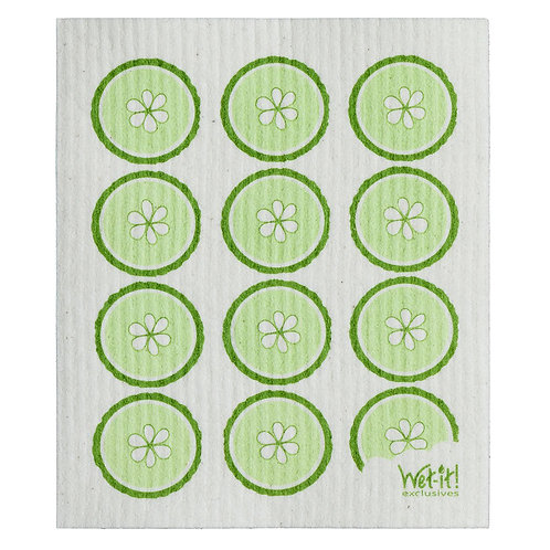 Fresh Cucumber Wet-It Swedish Dish Cloth