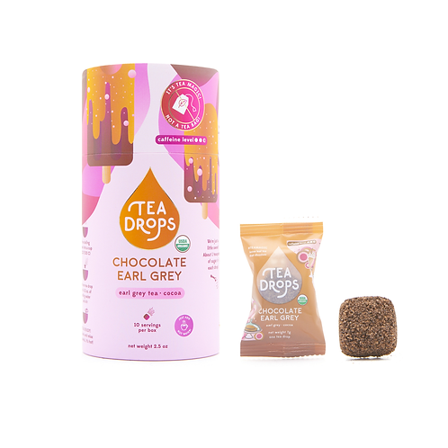 Chocolate Earl Grey Tea Drops Tube (10 Drops)