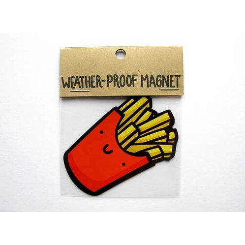 French Fries Weatherproof Magnet