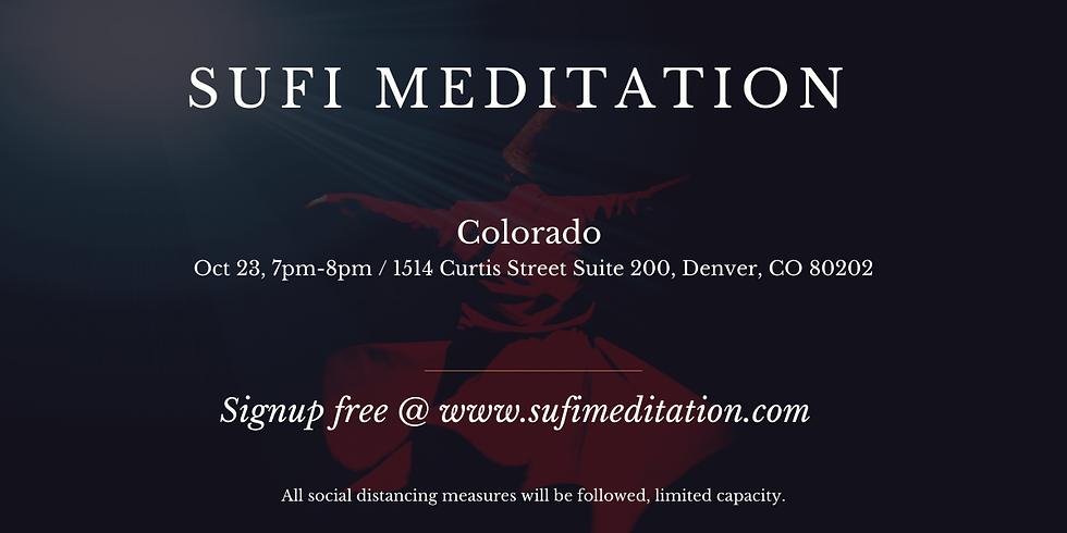 DENVER | Waqar Faiz Sufi Meditation (In Person Session)