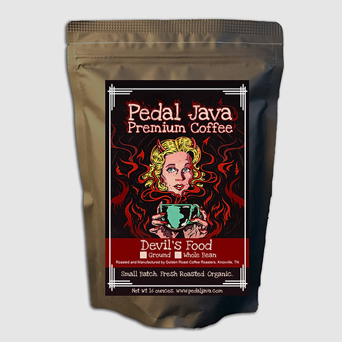 Devil's Food Coffee by Pedal Java