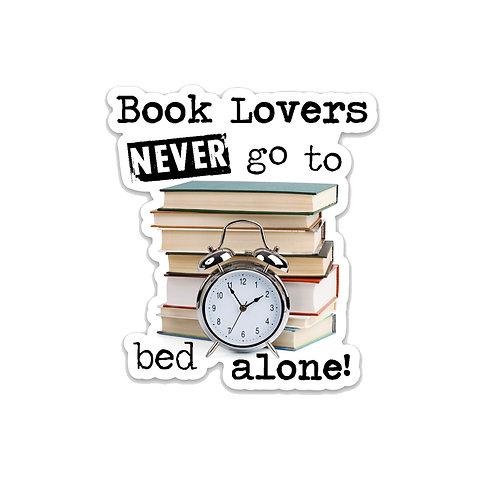 Book Lover Vinyl Sticker