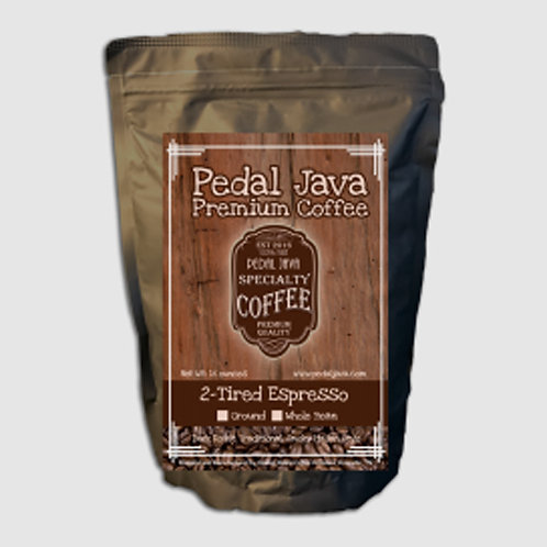 2-Tired Espresso by Pedal Java