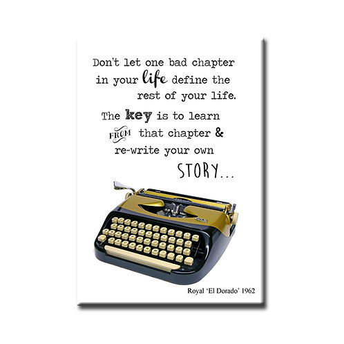 Rewrite Your Own Story Magnet