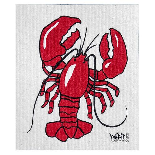 Lobster Wet-It Swedish Dish Cloth