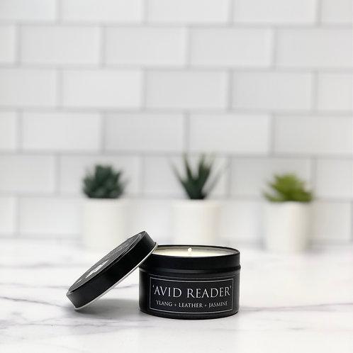 Avid Reader 6 oz. Tin Candle