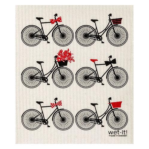 Bicycles Wet-It Swedish Dish Cloth