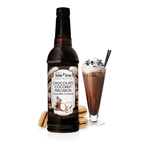 Sugar Free Chocolate Coconut Macaron Syrup