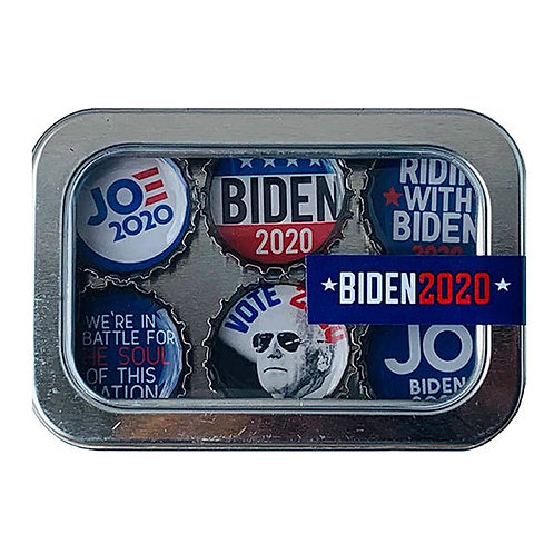 Biden 2020 Magnets (6 Pack) by Kate's Magnets