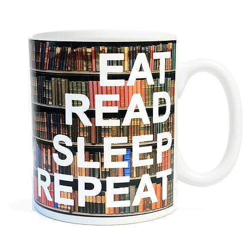 Eat Read Sleep Repeat Mug