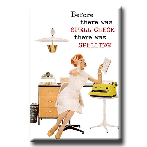 Before There Was Spell Check Mangnet