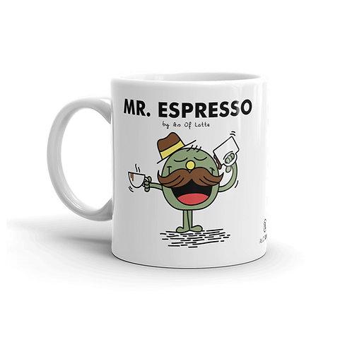 Mr Espresso 11 oz. Mug by As of Latte