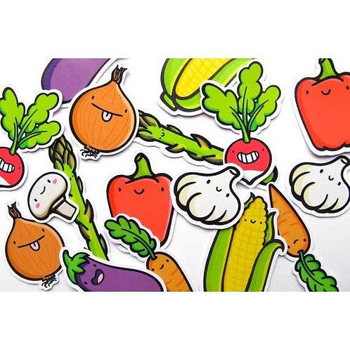 Veggie Dudes Sticker Pack