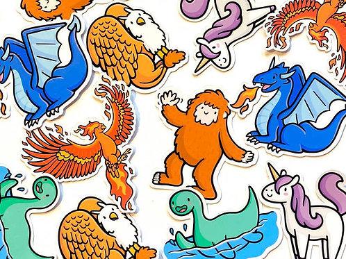 Imaginary Friends Sticker Pack