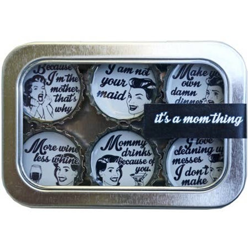 It's A Mom Thing Magnets (6 Pack) by Kate's Magnets