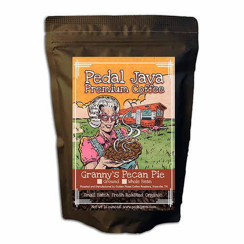 Granny's Pecan Pie Coffee by Pedal Java