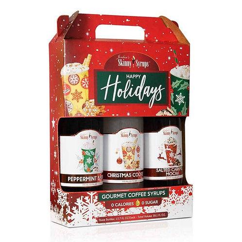 Happy Holidays Syrup Trio