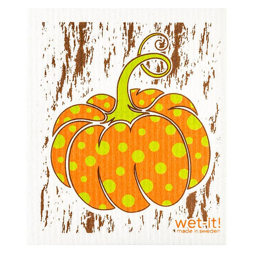 Pumpkin Harvest Wet-It Swedish Dish Cloth