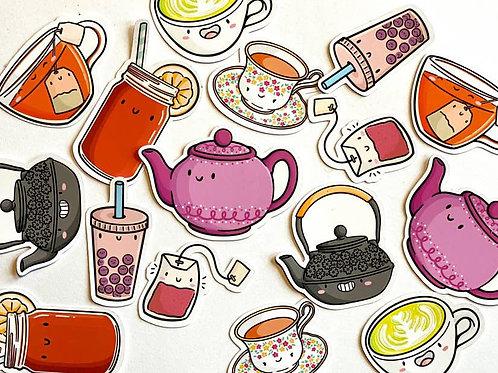 Tea Dudes Sticker Pack