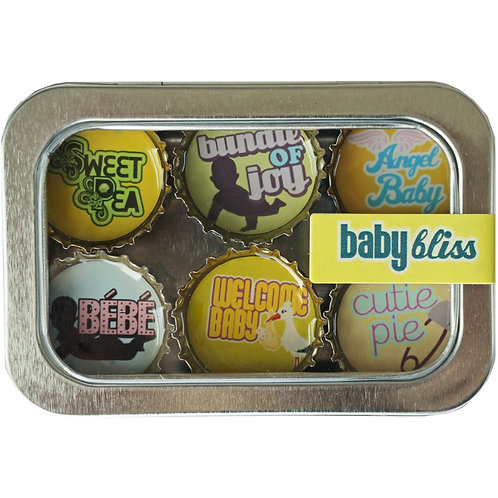 Baby Bliss Magnets (6 Pack) by Kate's Magnets