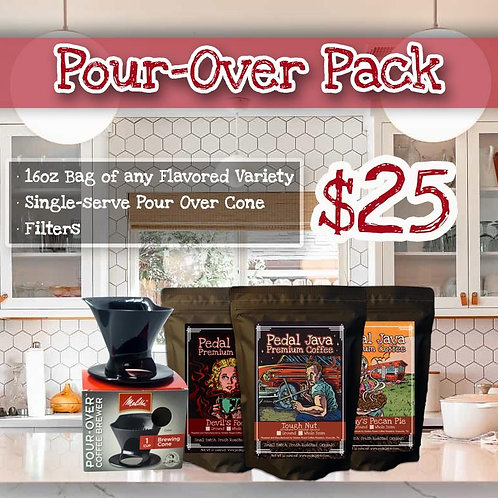 Pourover Coffee Kit by Pedal Java