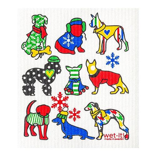 Cold Dogs Wet-It Swedish Dish Cloth