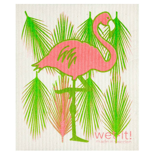 Flamingo Wet-It Swedish Dish Cloth