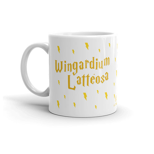 Wingardium Latteosa 11 oz. Mug by As of Latte