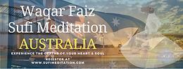 AUSTRALIA | Waqar Faiz Sufi Meditation