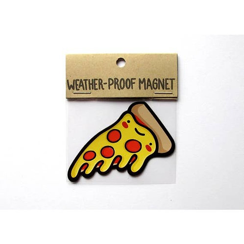 Pepperoni Pizza Weatherproof Magnet