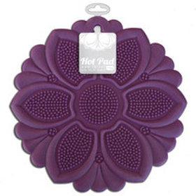 Purple No-Slip Grip Hot Pad/Trivet