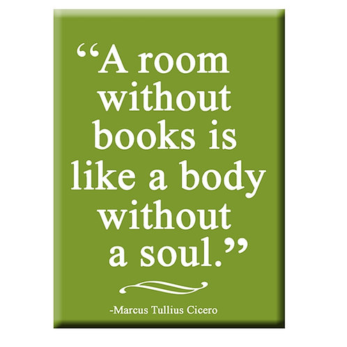 Room Without A Book Magnet
