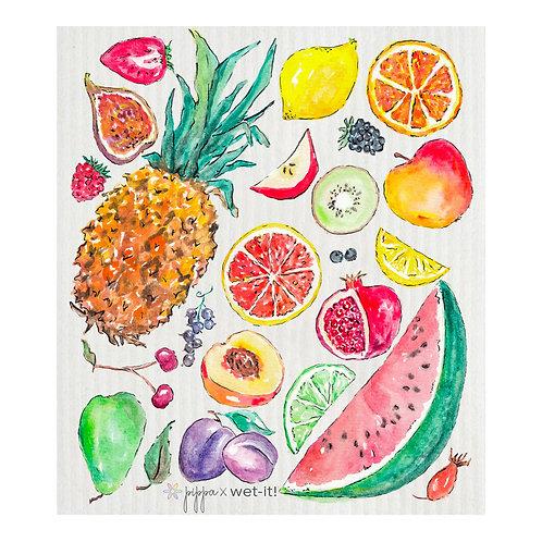 Tutti Frutti Wet-It Swedish Dish Cloth