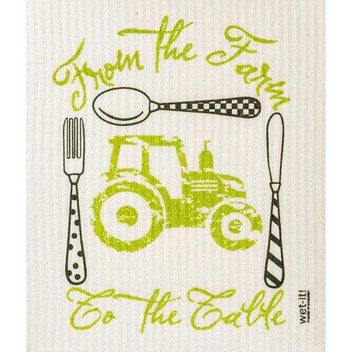 Farm to Table Wet-It Swedish Dish Cloth