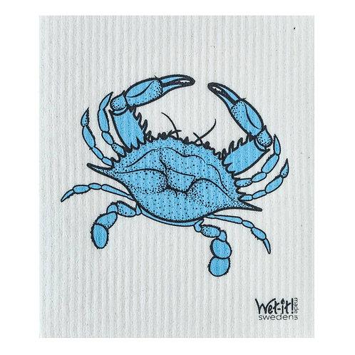 Blue Crab Wet-It Swedish Dish Cloth
