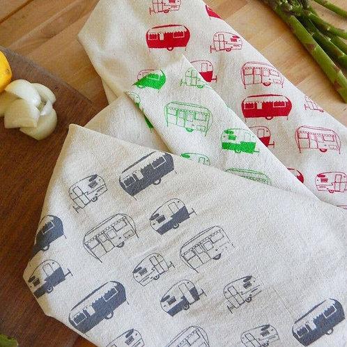 Campers Kitchen Tea Towel