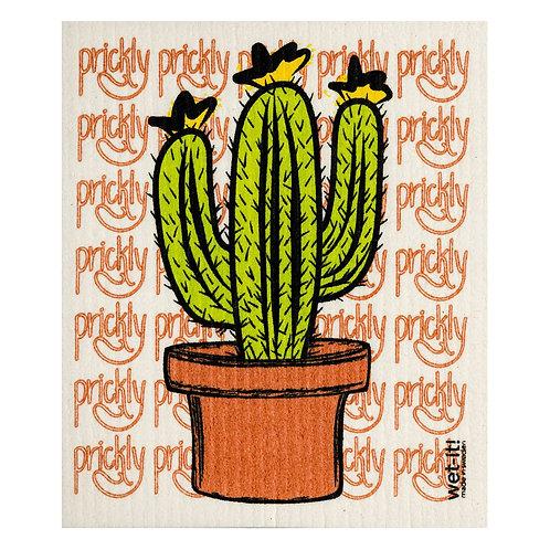 Prickly Cactus Wet-It Swedish Dish Cloth