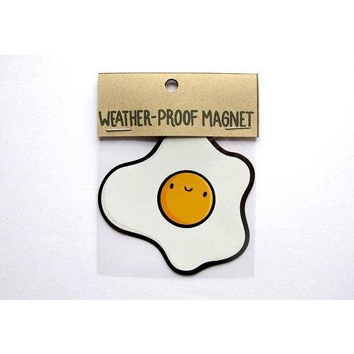 Sunny Side Up Egg Weatherproof Magnet