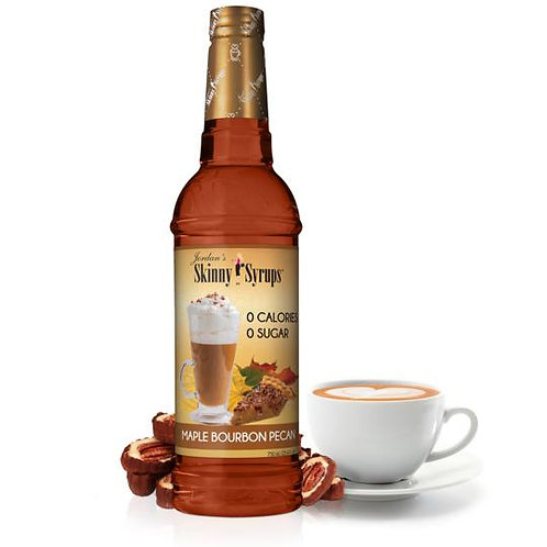 Sugar Free Maple Bourbon Pecan Syrup