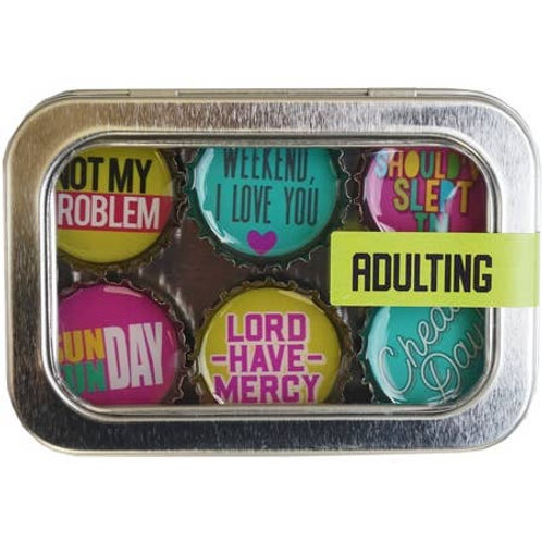 Adulting Magnets (6 Pack) by Kate's Magnets