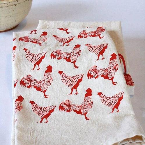 Chicken Kitchen Tea Towel