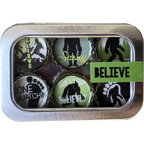 Believe Magnets (6 Pack) by Kate's Magnets