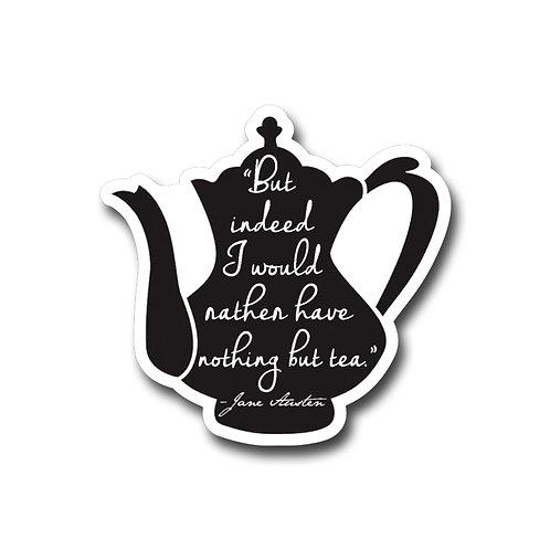 Jane Tea.....Vinyl Sticker