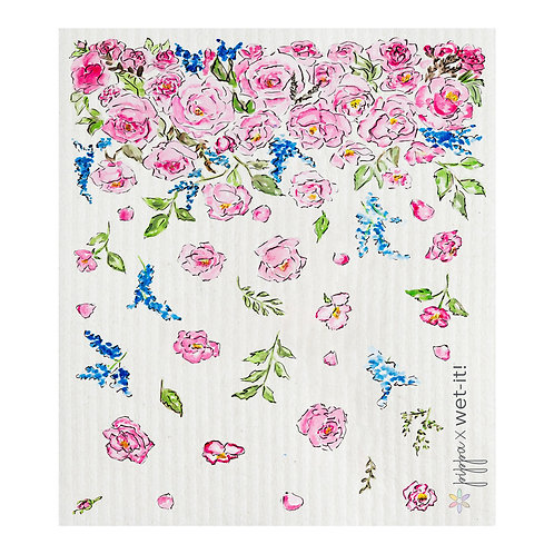 Flower Shower Wet-It Swedish Dish Cloth