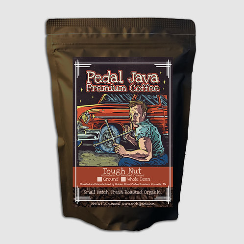 Tough Nut, Hazelnut Coffee by Pedal Java