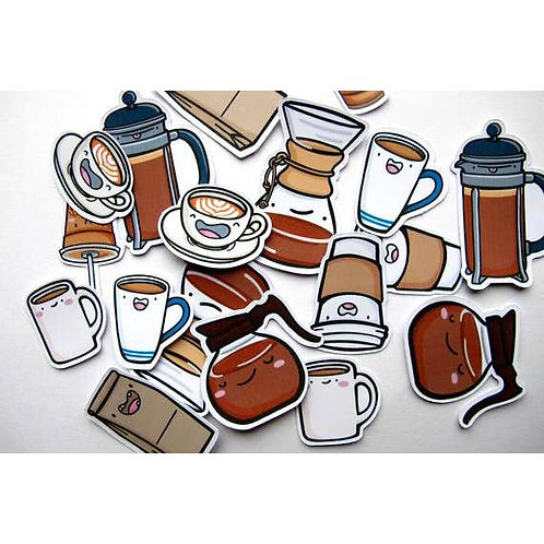 Coffee Dudes Sticker Pack