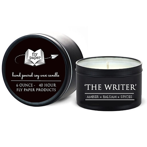 The Writer 6 oz. Tin Candle