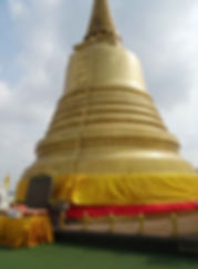 Golden Stupa Wat Saket Temple photo DJ Bowman-Smith
