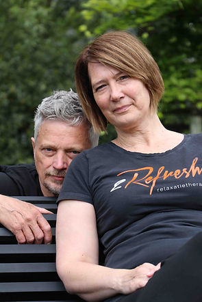 Inge Vrielynck, Frank De Backer, therapeut