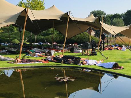 """""""Wauw, 80 mensen vonden innerlijke rust op onze Lazy Sunday"""""""